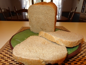 Honey Whole Wheat Bread (Contains Gluten)