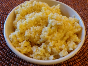 Millet Cooked with 3 cups of Water