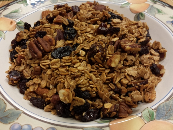 Honey Cinnamon Granola Tina's Cocina