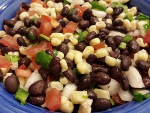 Corn and Black Bean Salsa From Taste of Home Magazine
