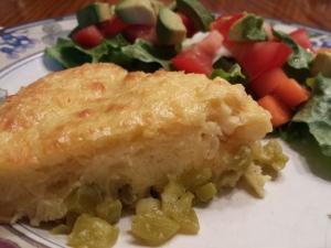 Green Chile Corn Casserole Tina's Cocina